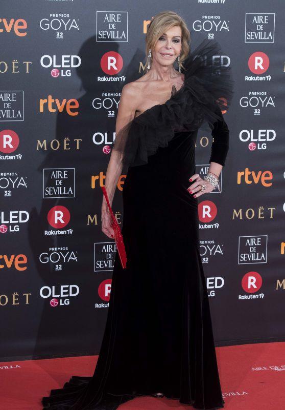 Bibiana Fernandez – 2018 Goya Awards in Madrid