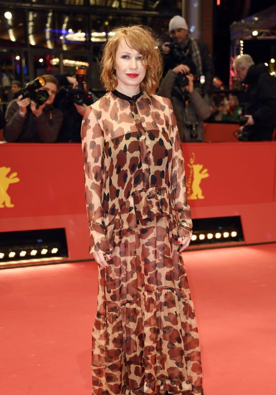 "Birgit Minichmayr – ""3 Days in Quiberon"" Premiere at Berlinale 2018"