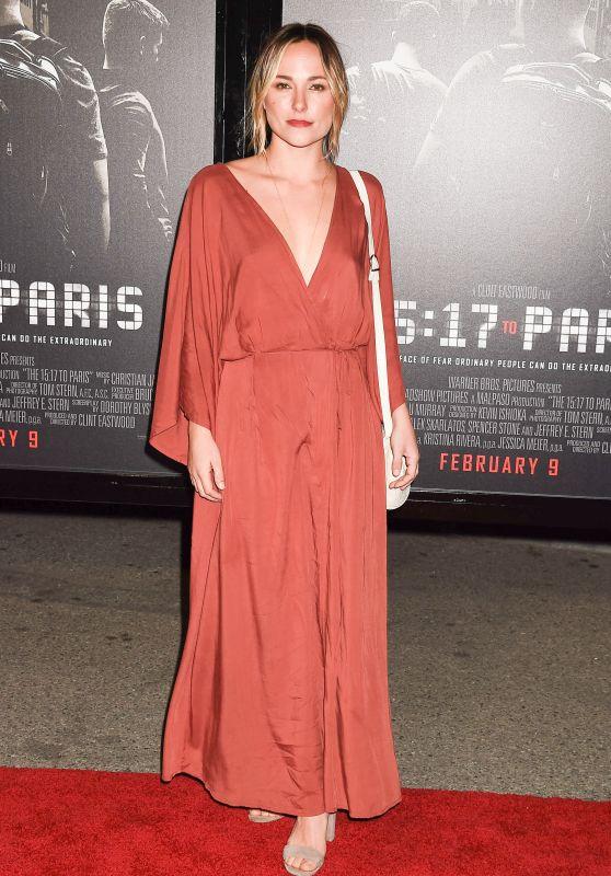"Briana Evigan - ""The 15:17 to Paris"" Premiere in Los Angeles"
