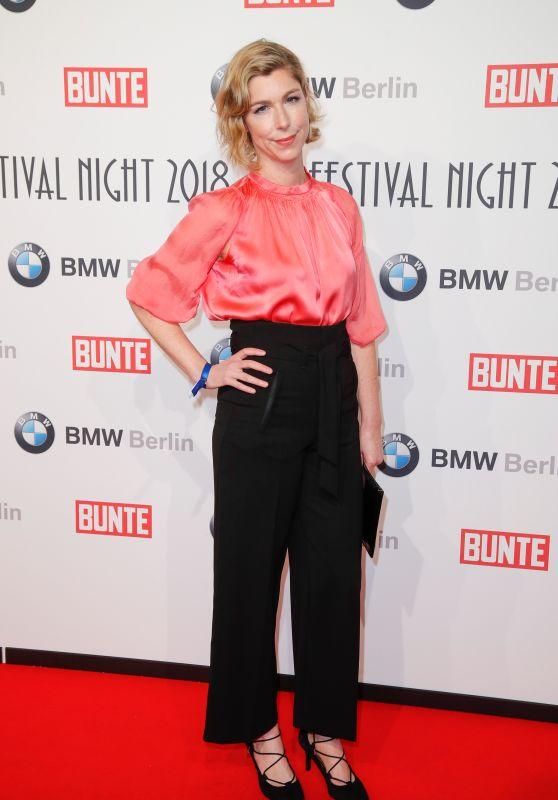 Brigitte Zeh – BUNTE & BMW Host Festival Night, Berlinale 2018