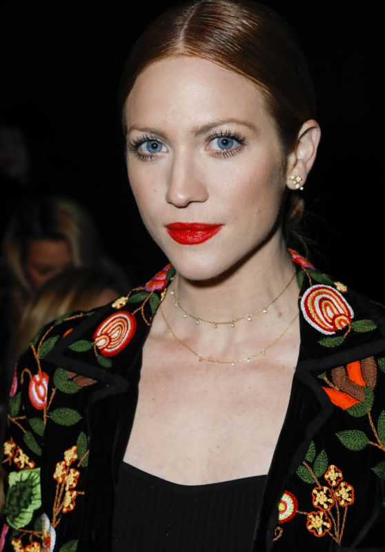Brittany Snow – Naeem Khan Show FW18 at NYFW