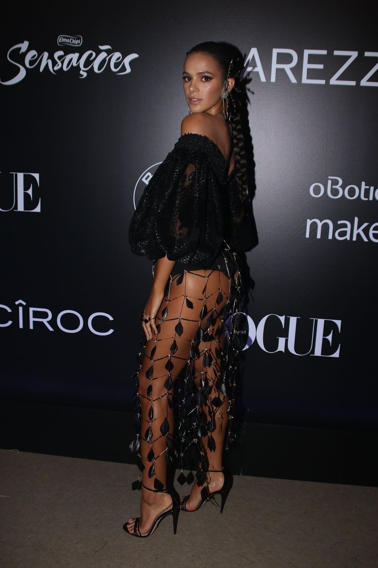 Bruna Marquezine Vogue Carnival Ball In Sao Paulo