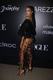 Bruna Marquezine - Vogue Carnival Ball in Sao Paulo