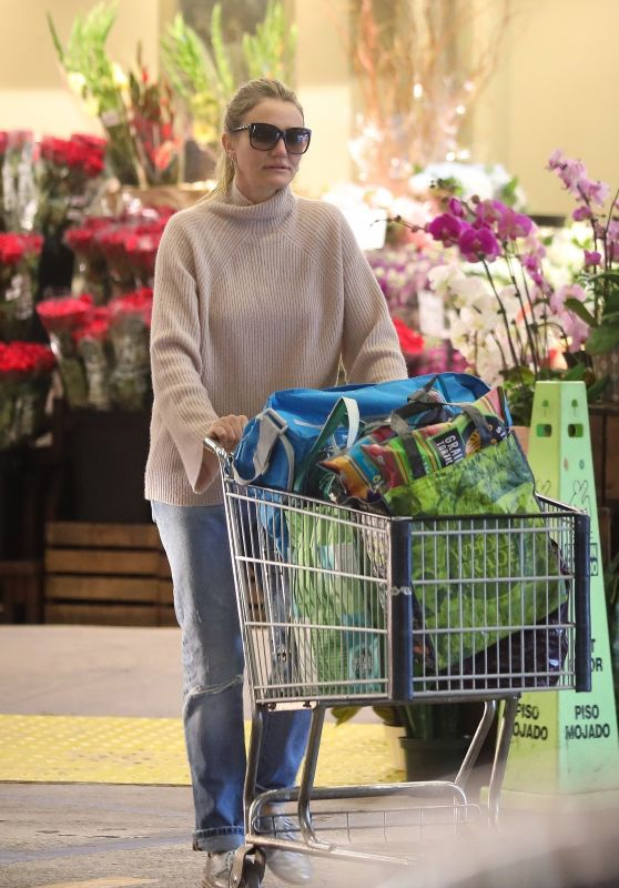 Cameron Diaz - Shopping in Beverly Hills 02/18/2018