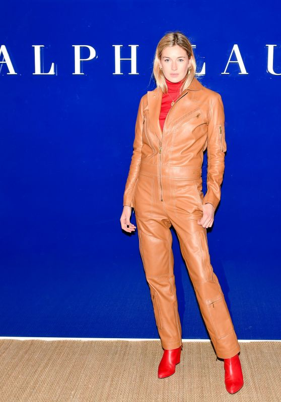 Camille Charriere – Ralph Lauren Show FW18 at NYFW