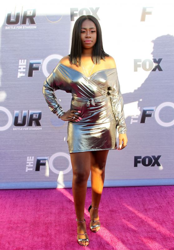"""Candice Boyd – """"The FOUR: Battle For Stardom"""" Viewing Party"""