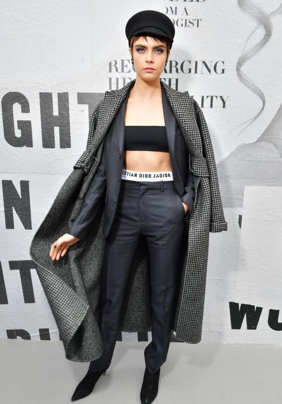 Cara Delevingne – Christian Dior Show FW18 in Paris