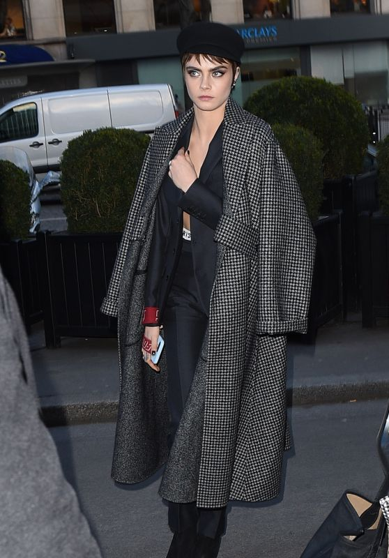 Cara Delevingne - Out in Paris 02/27/2018
