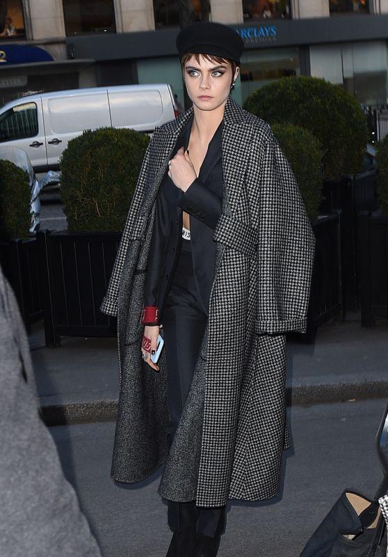 Cara Delevingne - Out in Paris 02/27/2018