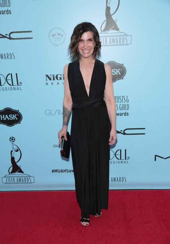 Carla Brenholtz – Make-Up Artist & Hair Stylist Guild Awards in LA