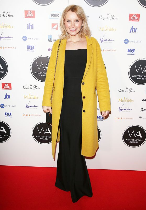 Carley Stenson – 2018 WhatsOnStage Awards in London
