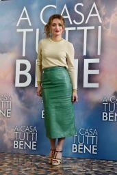 "Carolina Crescentini – ""A Casa Tutti Bene"" Photocall in Rome"
