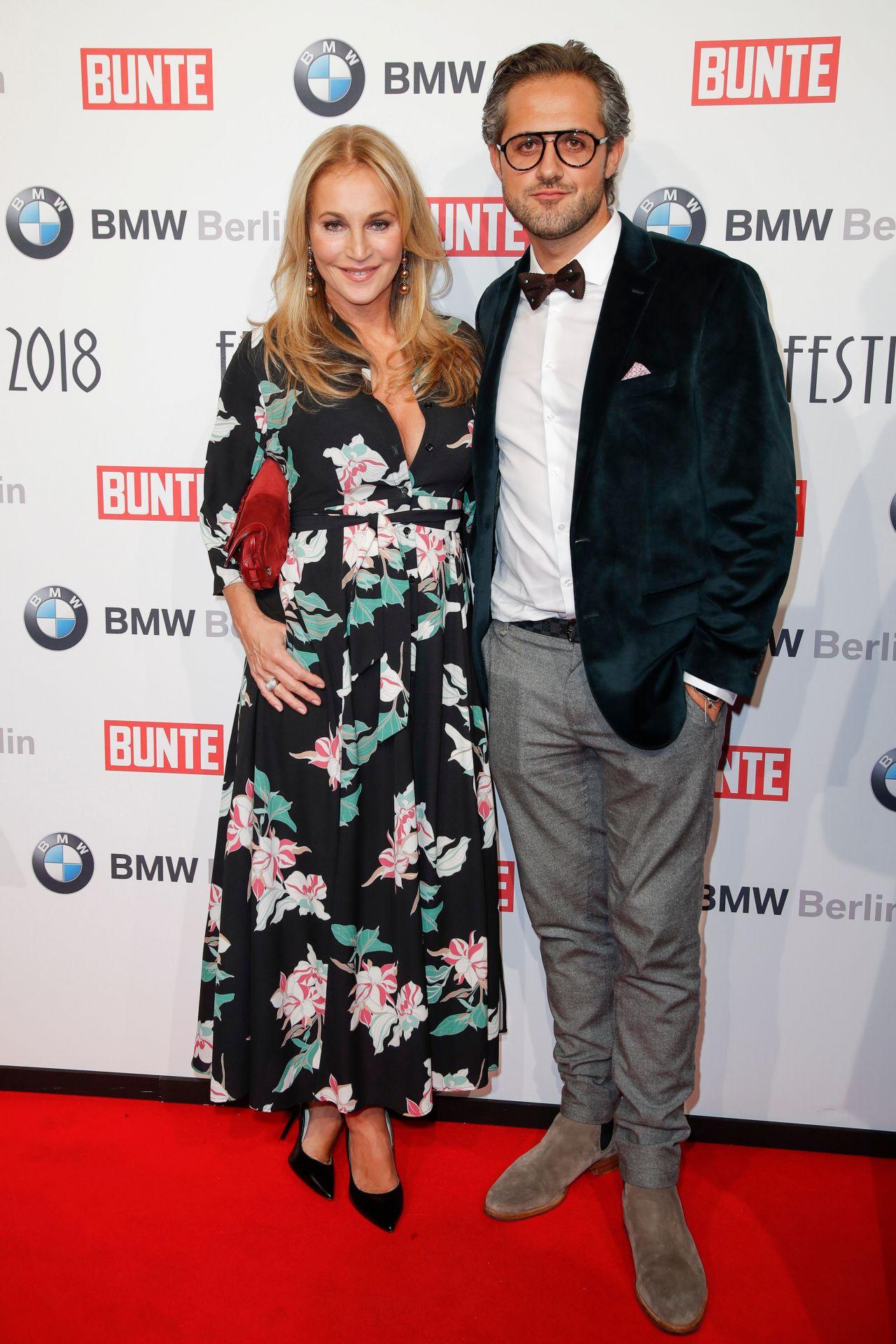 Caroline Beil - BUNTE & BMW Host Festival Night 2018, Berlinale 2018