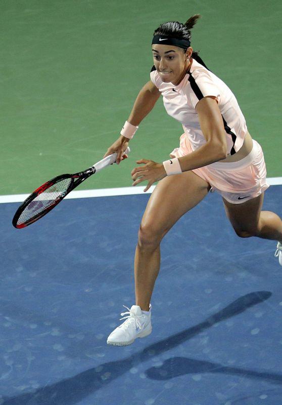 Caroline Garcia – WTA Dubai Championships 02/20/2018