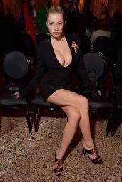 Caroline Vreeland and Shea Marie – Versace Show FW18 in Milan