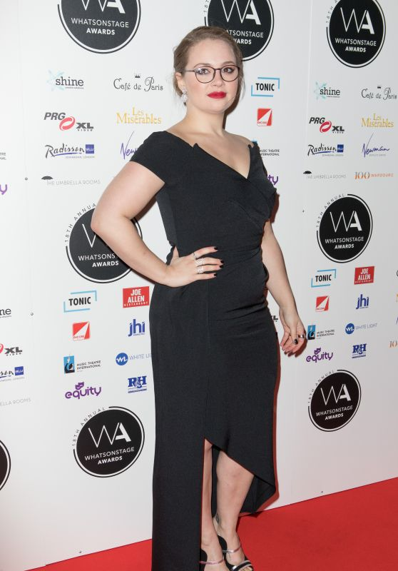 Carrie Hope Fletcher – 2018 WhatsOnStage Awards in London