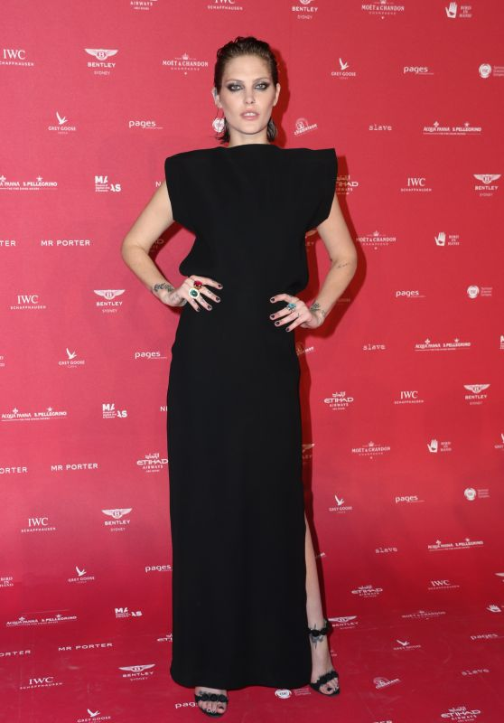 Catherine McNeil at Sydney's MAAS Ball 2018