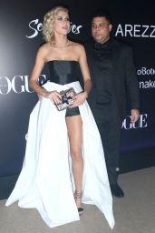 Celina Locks and Ronaldo - Vogue Brazil Gala in Sao Paulo