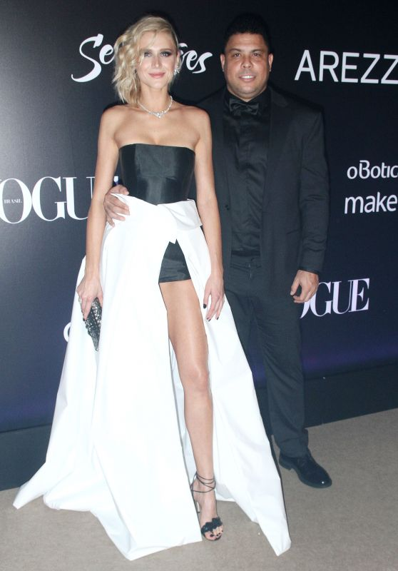 Celina Locks and Ronaldo - Vogue Brazil Gala in Sao Paulo