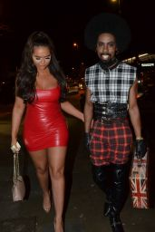 Chanelle McCleary and Jsky at Manchester House Bar and Restaurant in Manchester