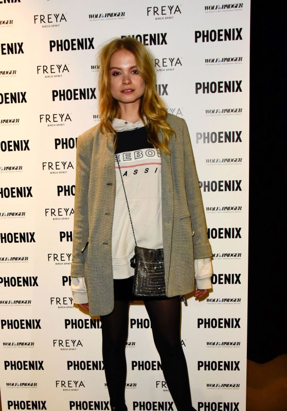 """Charlie Newman – Wolf & Badger and Phoenix """"A Celebration of Independence"""" Party at LFW"""