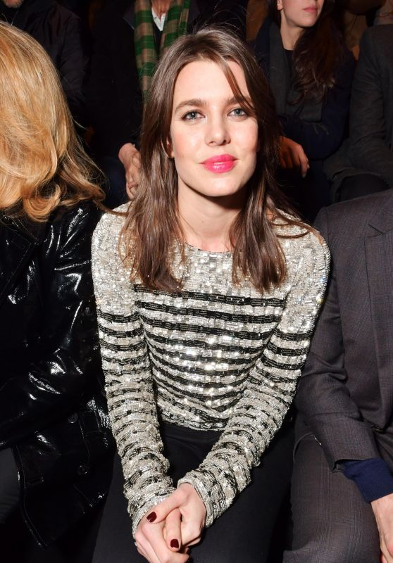 Charlotte Casiraghi – Christian Dior Show FW18 in Paris