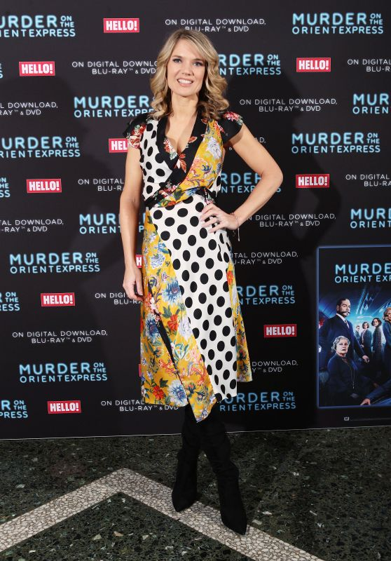 """Charlotte Hawkins - """"Murder On The Orient Express"""" Screening to Celebrate the Blu-Ray and DVD Release in London"""