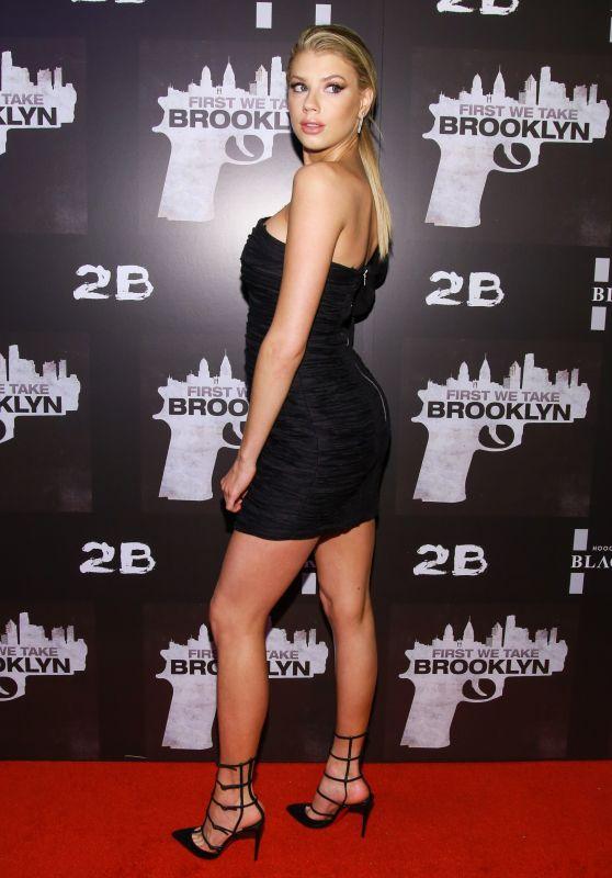 "Charlotte McKinney - ""First We Take Brooklyn"" Premiere in New York"
