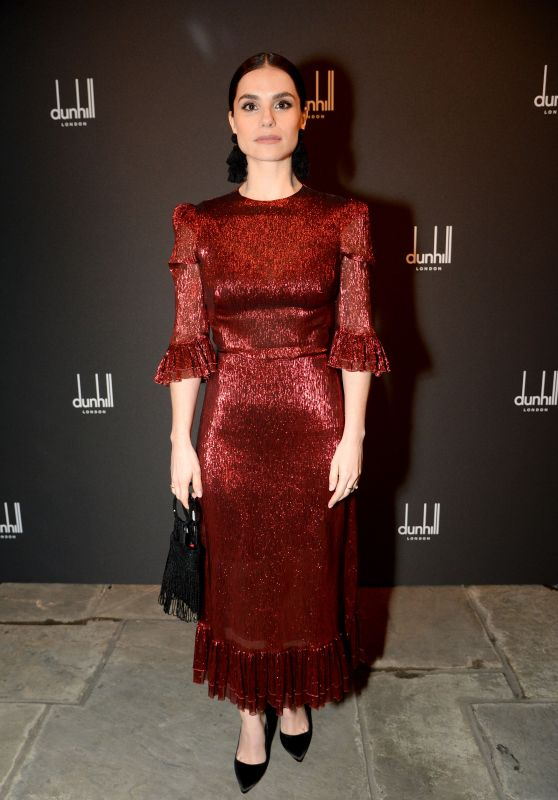 Charlotte Riley – Dunhill & GQ Pre-BAFTA Filmmakers Dinner And Party in London
