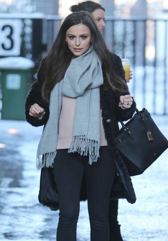 Cher Lloyd - Outside ITV Studios in London 02/28/2018