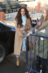 Cheryl Cole - Arriving at The Prince