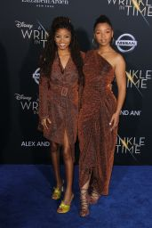 "Chloe Bailey and Halle Bailey – ""A Wrinkle in Time"" Premiere in Los Angeles"