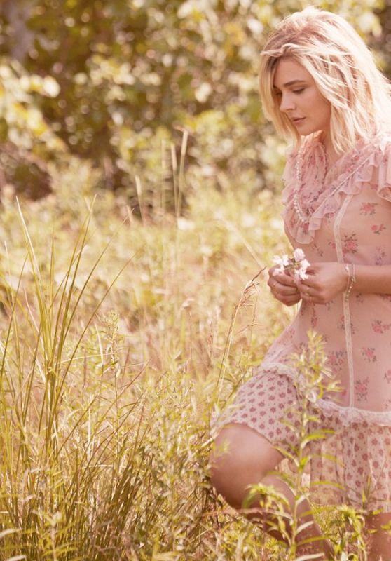 Chloe Moretz - Coach Floral Eau de Parfum Campaign 2018