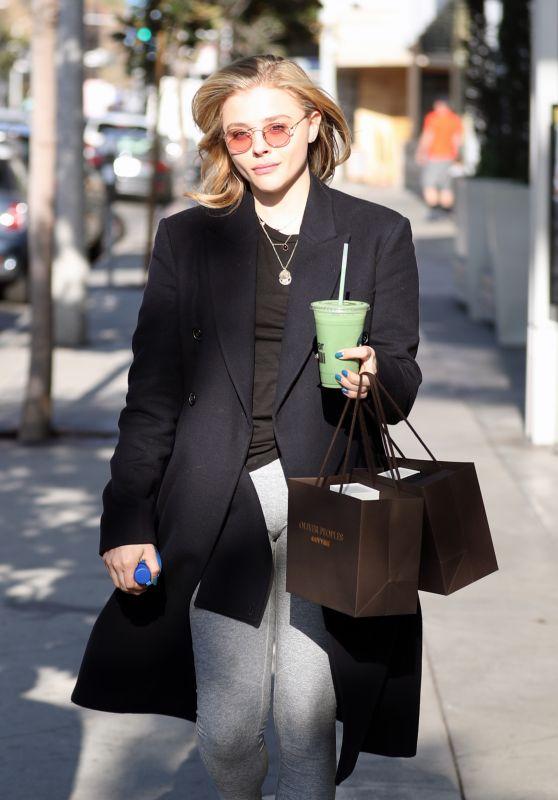 Chloe Moretz - Shopping in Los Angeles 02/14/2018