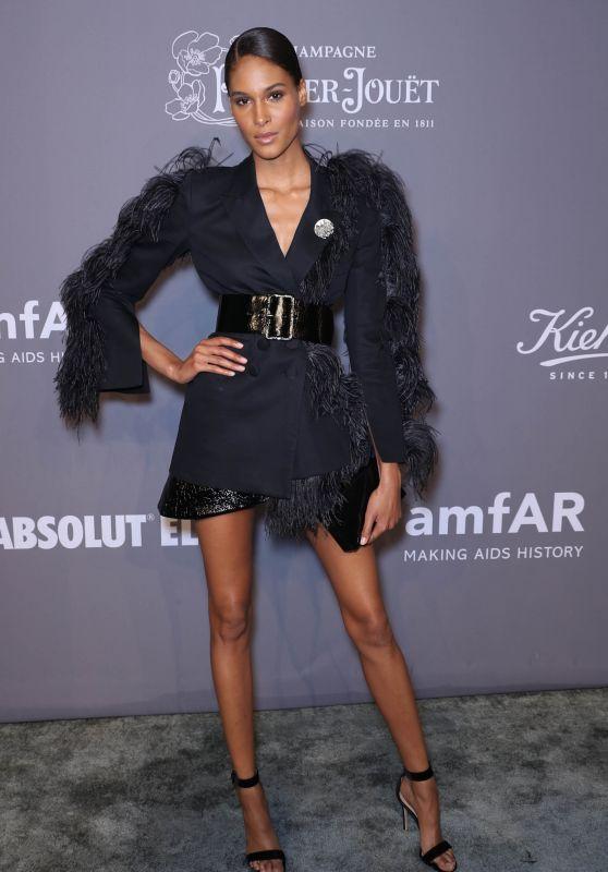Cindy Bruna – 2018 amfAR Gala in NYC