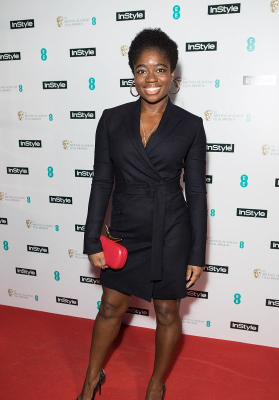 Clara Amfo - InStyle EE Rising Star 2018 BAFTAs Pre Party in London