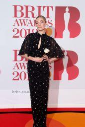Clara Paget – 2018 Brit Awards in London