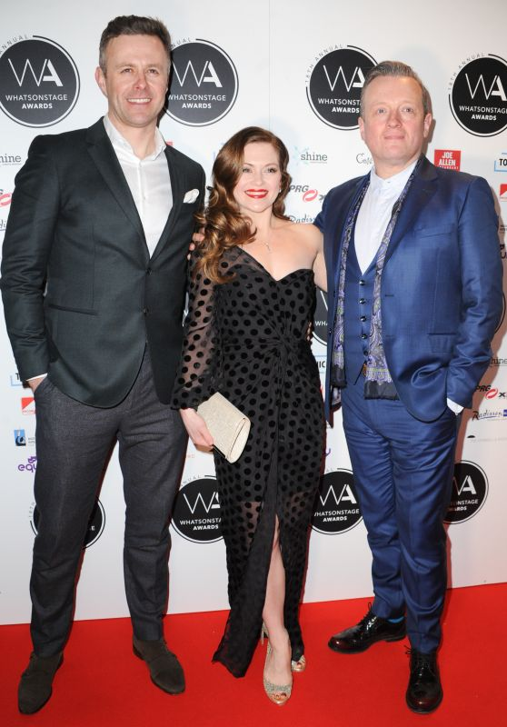 Clare Halse – 2018 WhatsOnStage Awards in London
