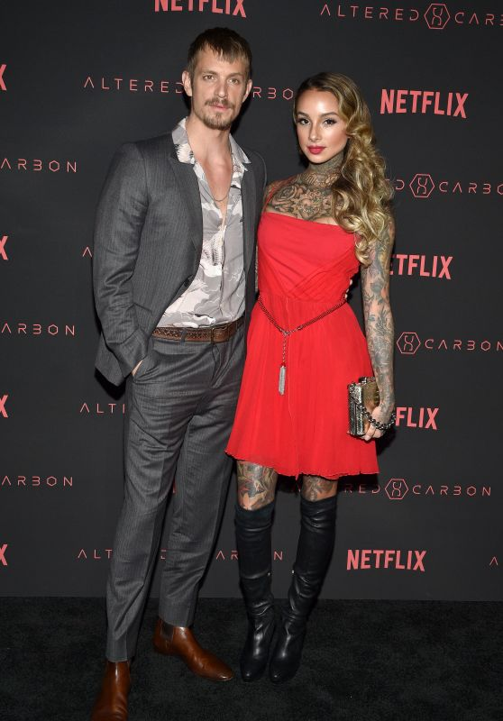 """Cleo Wattenstrom – """"Altered Carbon"""" Premiere in Los Angeles"""