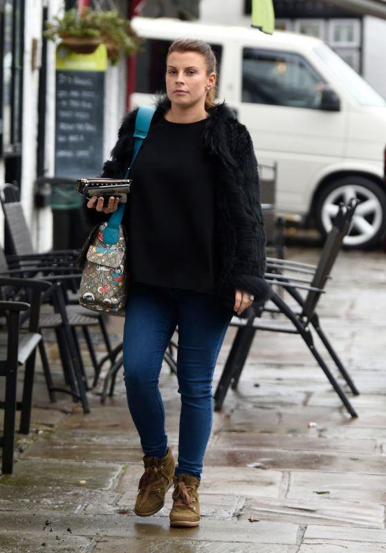Coleen Rooney in Prestbury Village 02/19/2018