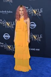 """Constance Wu – """"A Wrinkle in Time"""" Premiere in Los Angeles"""