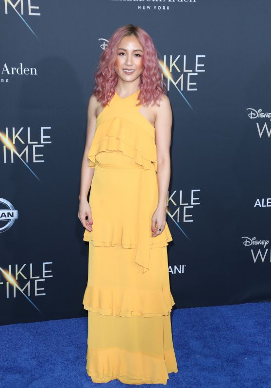 "Constance Wu – ""A Wrinkle in Time"" Premiere in Los Angeles"