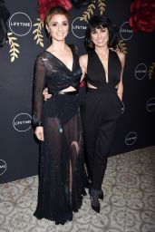 """Constance Zimmer - Anti-Valentine's Bash for the """"UnREAL"""" and """"Mary Kills People"""" Premieres in West Hollywood"""