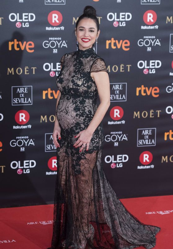 Cristina Brondo – 2018 Goya Awards in Madrid