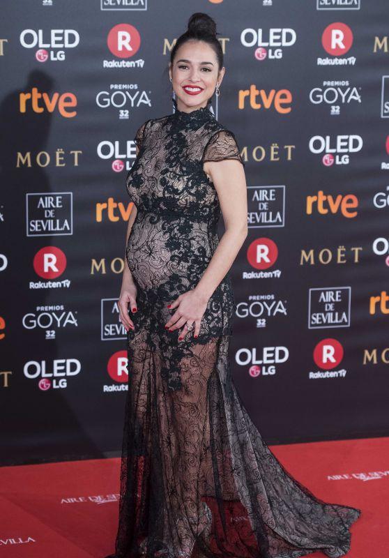 Cristina Brondo – 2018 Goya Awards in Madrid