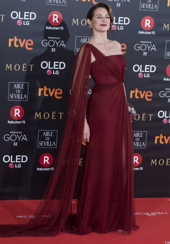 Cuca Escribano – 2018 Goya Awards in Madrid