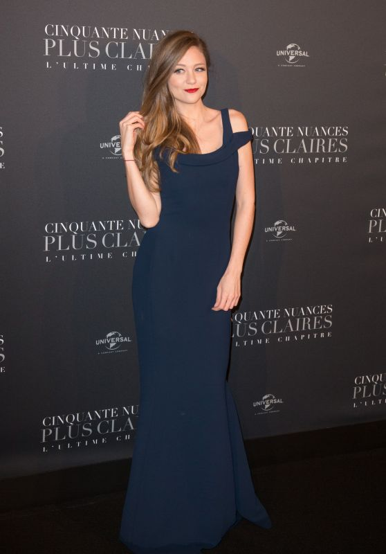 """Cyrielle Joelle – """"Fifty Shades Freed"""" Premiere in Paris"""