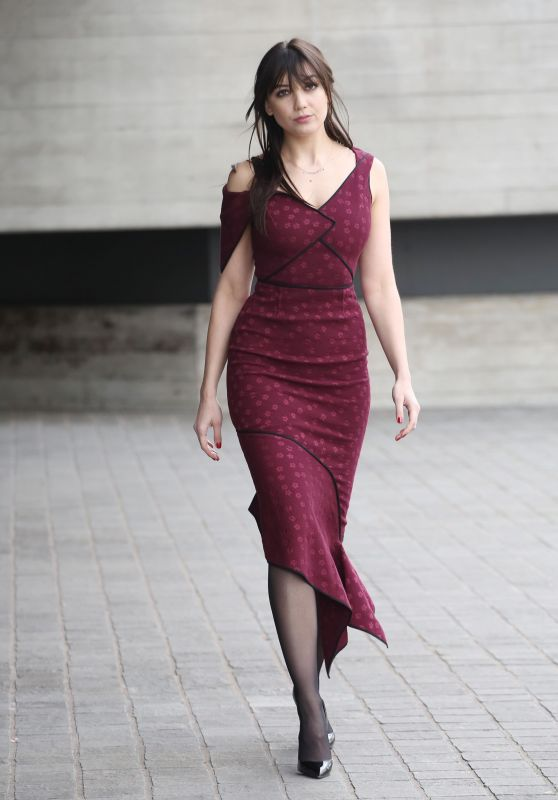Daisy Lowe - Roland Mourret Show at LFW 02/18/2018