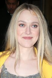 Dakota Fanning - Oscar De La Renta Fashion Show in NYC