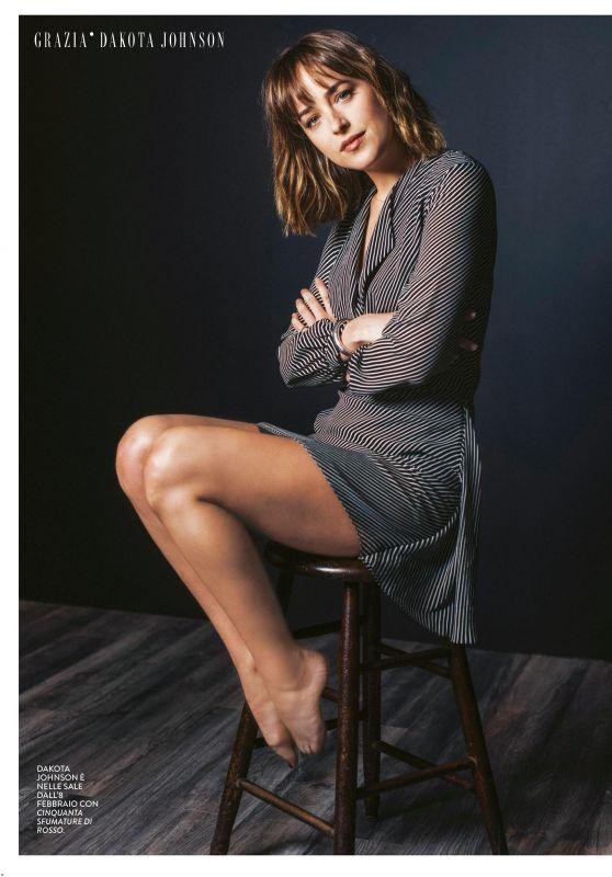 Dakota Johnson - Grazia Italia February 2018 Issue